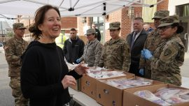 National Guard Helps to Contain Coronavirus in New Rochelle