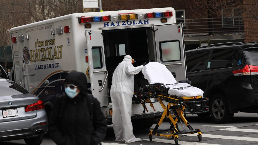 CCP Virus Death Toll Exceeds 4,000 in America