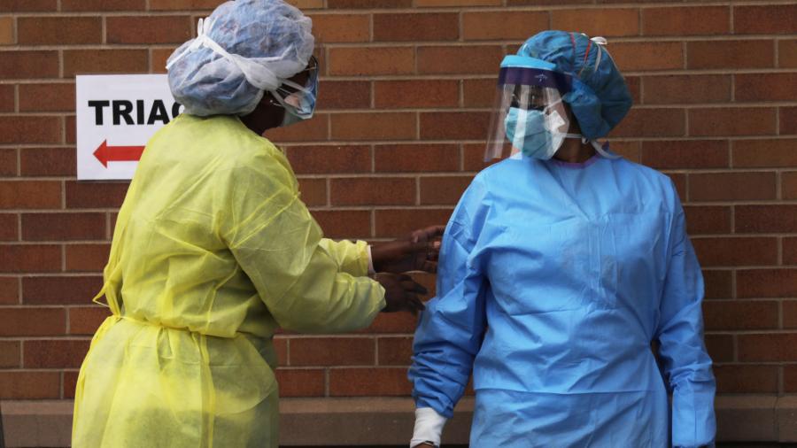 Major Virus Model Updated, Projected US Deaths Drop