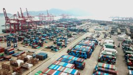 China's July Exports Seen Falling on Global Virus Surge; Import Growth Cools: Reuters Poll