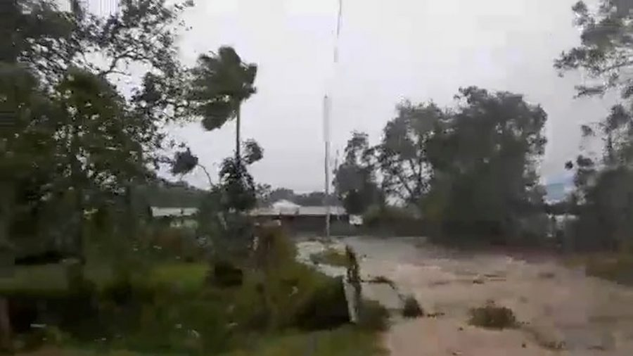 Category 5 Cyclone Pounds South Pacific Island, Levelling Buildings Amid Virus Lockdown