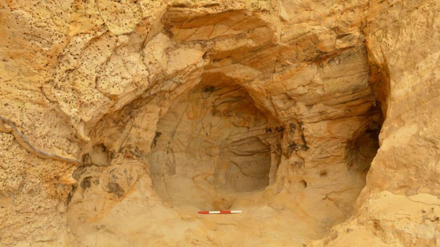 Rail Workers Discover 14th Century Cave While Making Repairs in England
