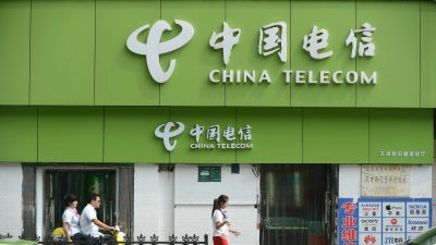 US Agencies Call on FCC to Bar China Telecom From Operating in US