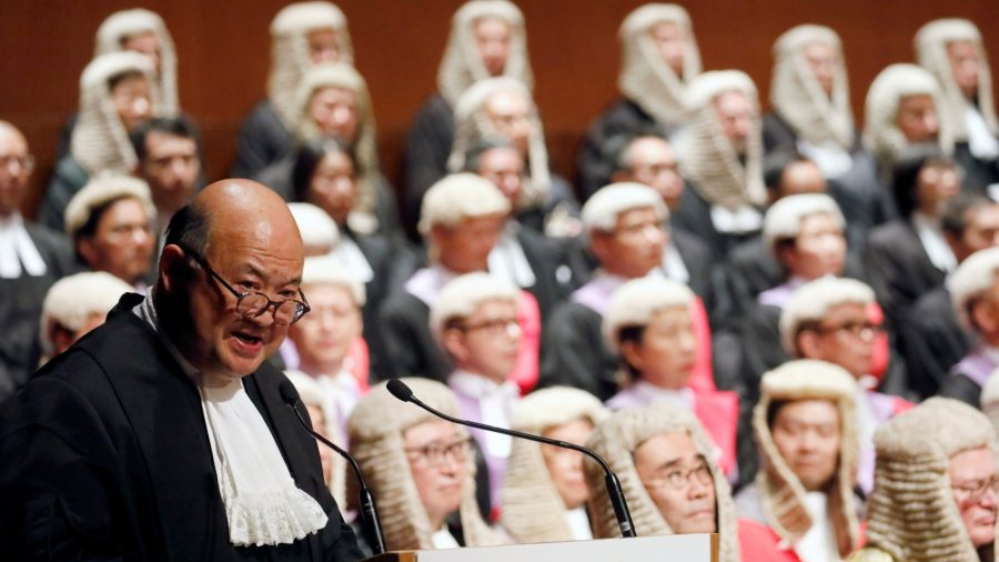 Hong Kong Judges Battle Beijing Over Rule of Law as Pandemic Chills Protests