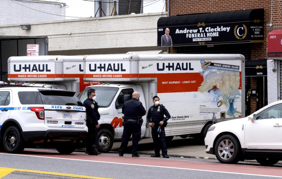 Up to 60 bodies found in four trucks outside Brooklyn funeral home