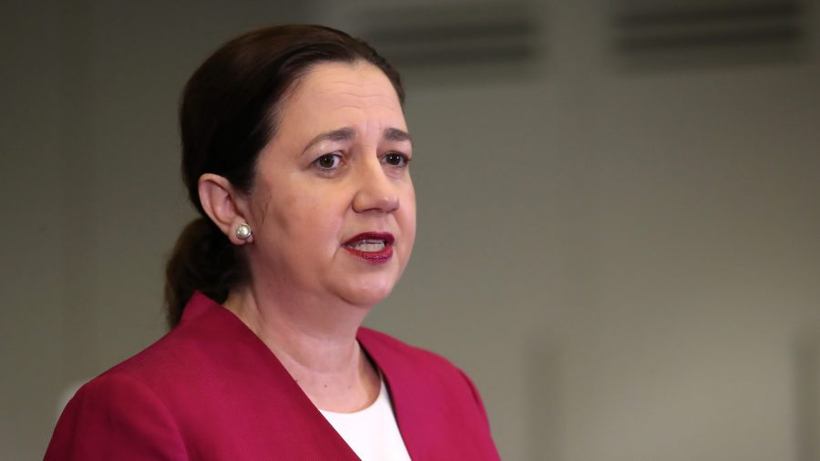 Queensland Premier Says Peak Infections Predicted in a Few Months Time