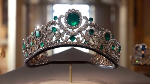 French Crown Jewels at Louvre Museum