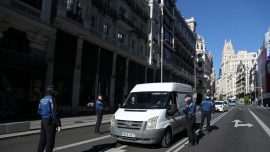 Spain's Daily CCP Virus Death Toll Falls for Second Day in Row