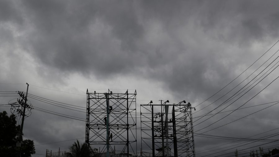 Strong Typhoon Slams Into Pandemic-Hit Philippines