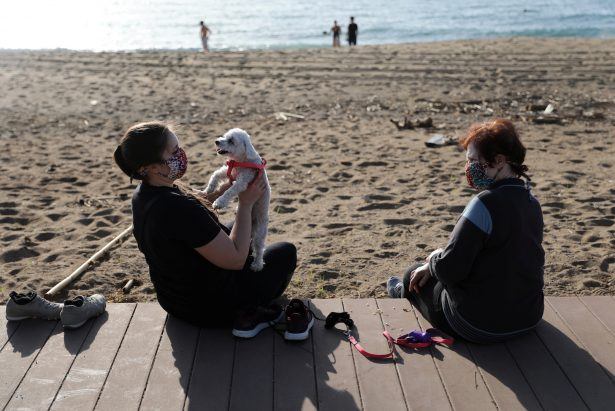 Beaches Open in Barcelona as Spain Decides on Next Steps of Lockdown Exit