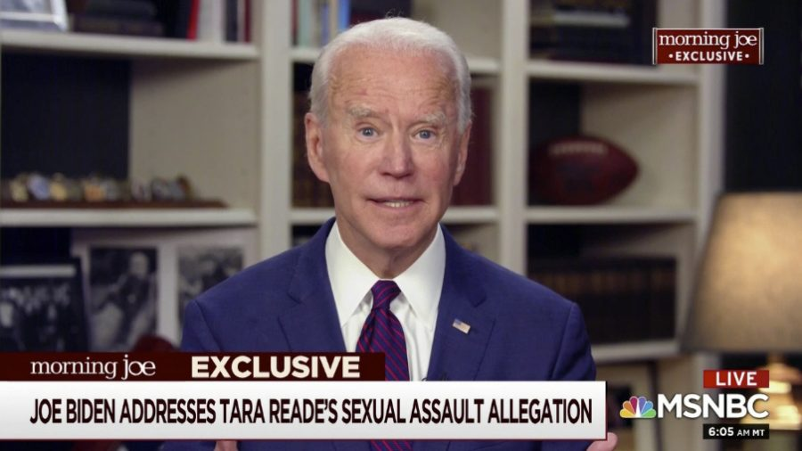 Trump tells Biden to fight sex assault allegation