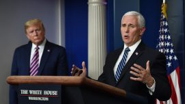 Pence: White House Is Considering Eliminating Its CCP Virus Task Force