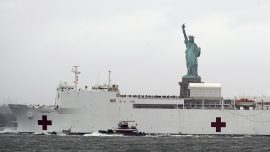 After Relieving NYC Hospitals, Navy Hospital Ship Returns to Home Port at the Ready