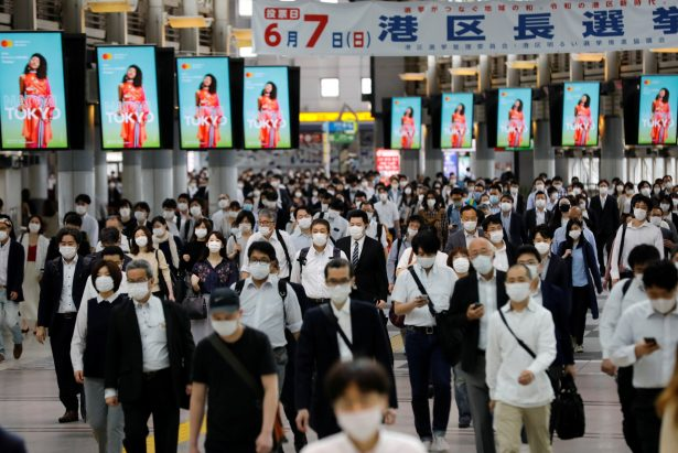 Japanese Face 'New Normal' After CCP Virus Emergency Lifted
