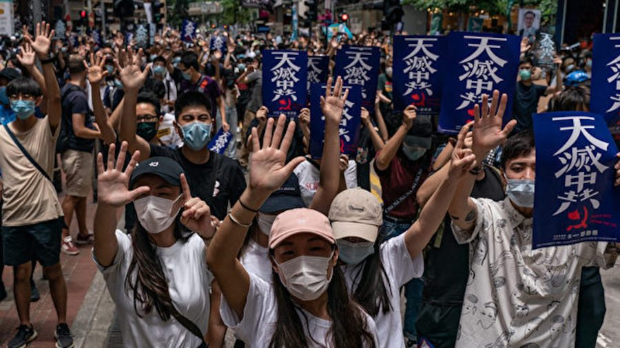 Bipartisan Lawmakers Introduce Resolution Condemning China's Security Law on Hong Kong