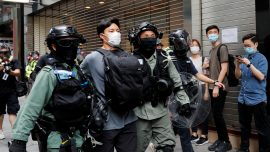 Widespread Protests in Hong Kong as Local Legislature Debates National Anthem Law