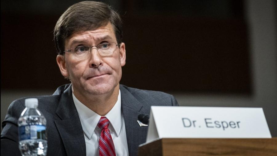 Esper: US Watching China 'Very Carefully'