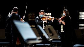 Playing to an Empty Room: Paris Orchestra Plays Strauss in COVID-19 Era