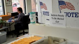 Nebraska Holds First In-Person Election in Weeks Amid Pandemic
