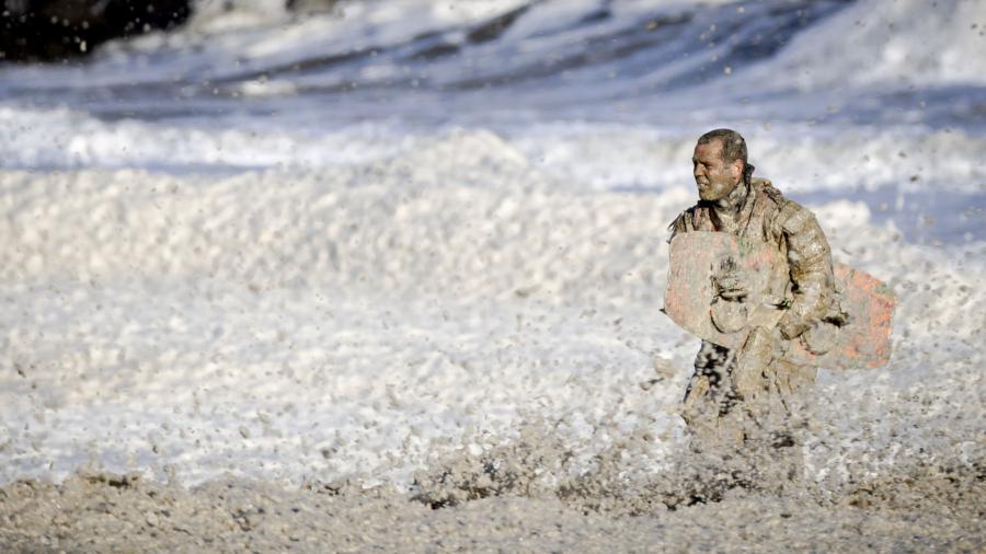 Five surfers die in storm off Dutch coast