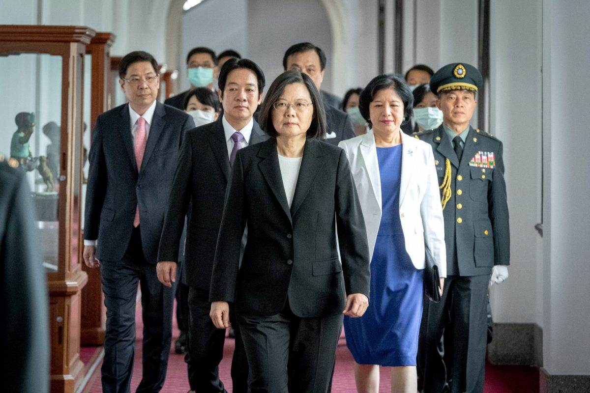 Taiwan President Tsai Ing-wen and Vice President William Lai Ching-te