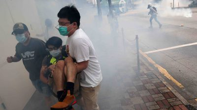 Tear Gas Fired as Hong Kong Protesters Return to Streets Against China's 'National Security' Law