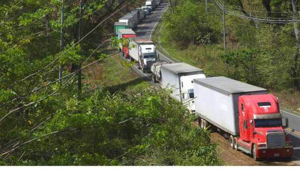 Nicaragua-Costa Rica CCP Virus Dispute Stalls Hundreds of Trucks at Border