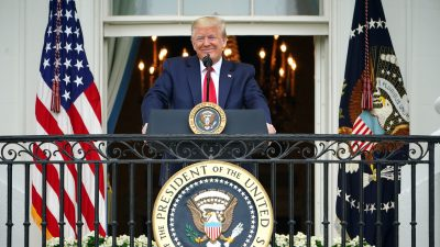 President Trump Visiting Arlington Cemetery, Fort McHenry for Memorial Day