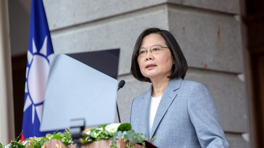 Taiwan President Begins Her Second Term by Rejecting CCP Rule