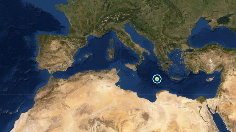 Magnitude 6.2 Earthquake Strikes Central Mediterranean Sea