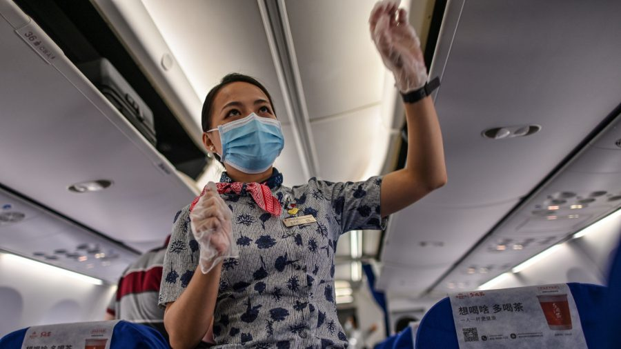 US Set to Suspend Flights From Chinese Airlines