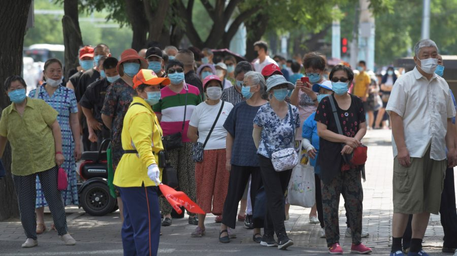 New CCP Virus Outbreak in Northeastern Chinese City Prompts Panic