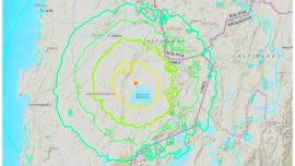 Major Magnitude 6.8 Earthquake Hits Northern Chile; Causing Power Outages