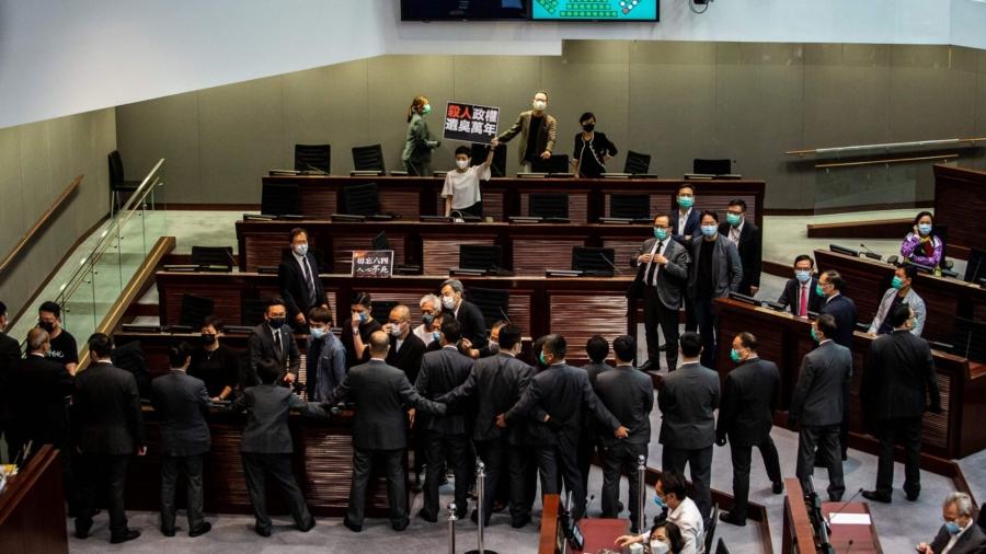 Hong Kong Legislature Passes Controversial National Anthem Bill