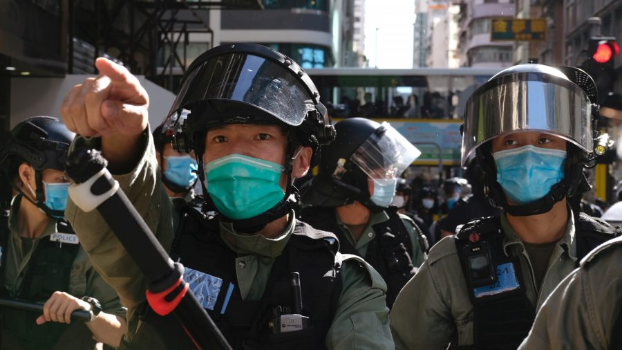 Beijing Reviews National Security Law as Hong Kong Protests Are Reignited
