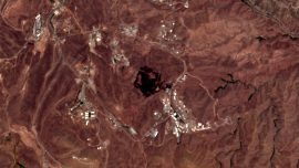 Explosion Reported in Iran Near Suspected Missile Site: Satellite Image