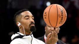 NBA Star J.R. Smith Seen Beating Rioter Who Allegedly Vandalized His Car During LA Protests