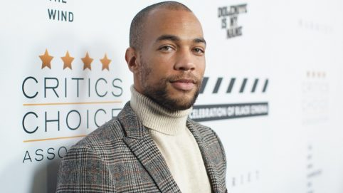 Actor Kendrick Sampson Says He Was Shot With Rubber Bullets During Protest