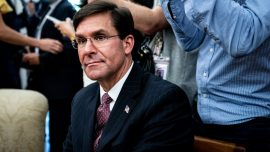 Defense Secretary Esper 'Committed to Serving As Long As' Wanted by President: Source
