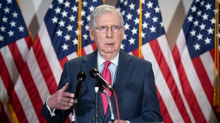 McConnell Backs More Stimulus Payments, Says Economy Needs 'Shot of Adrenaline'
