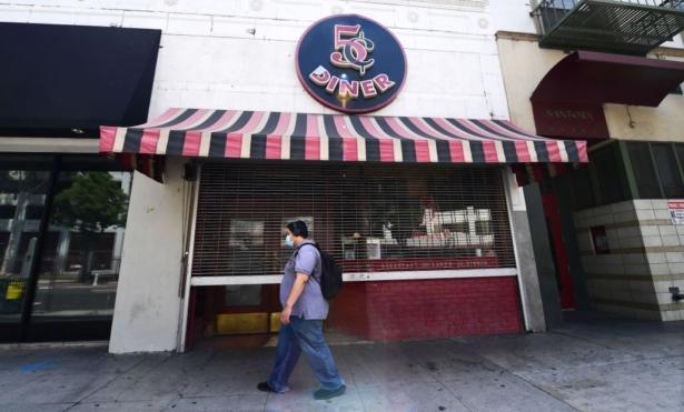 A closed Nickel Diner