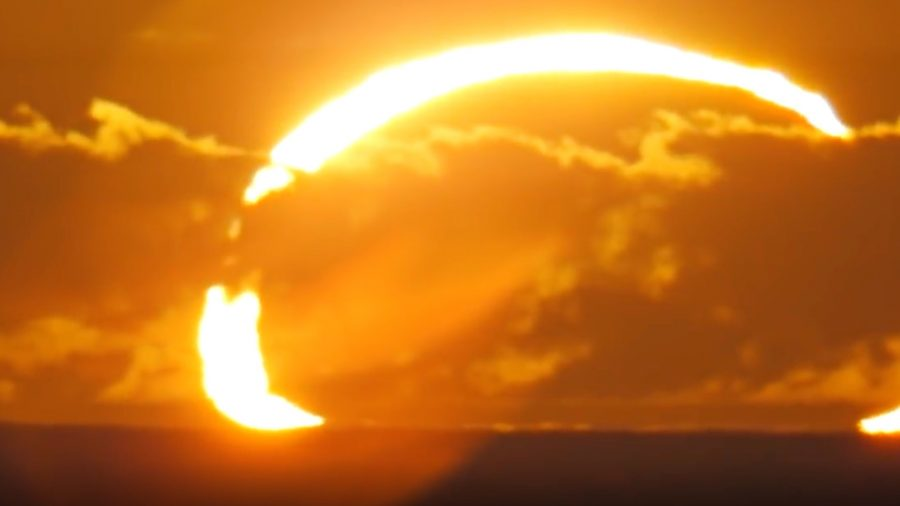 Annular solar eclipse to be visible this Sunday
