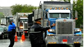 Trucking Co. Won't Deliver in Cities Pushing to Defund, Disband Police Departments