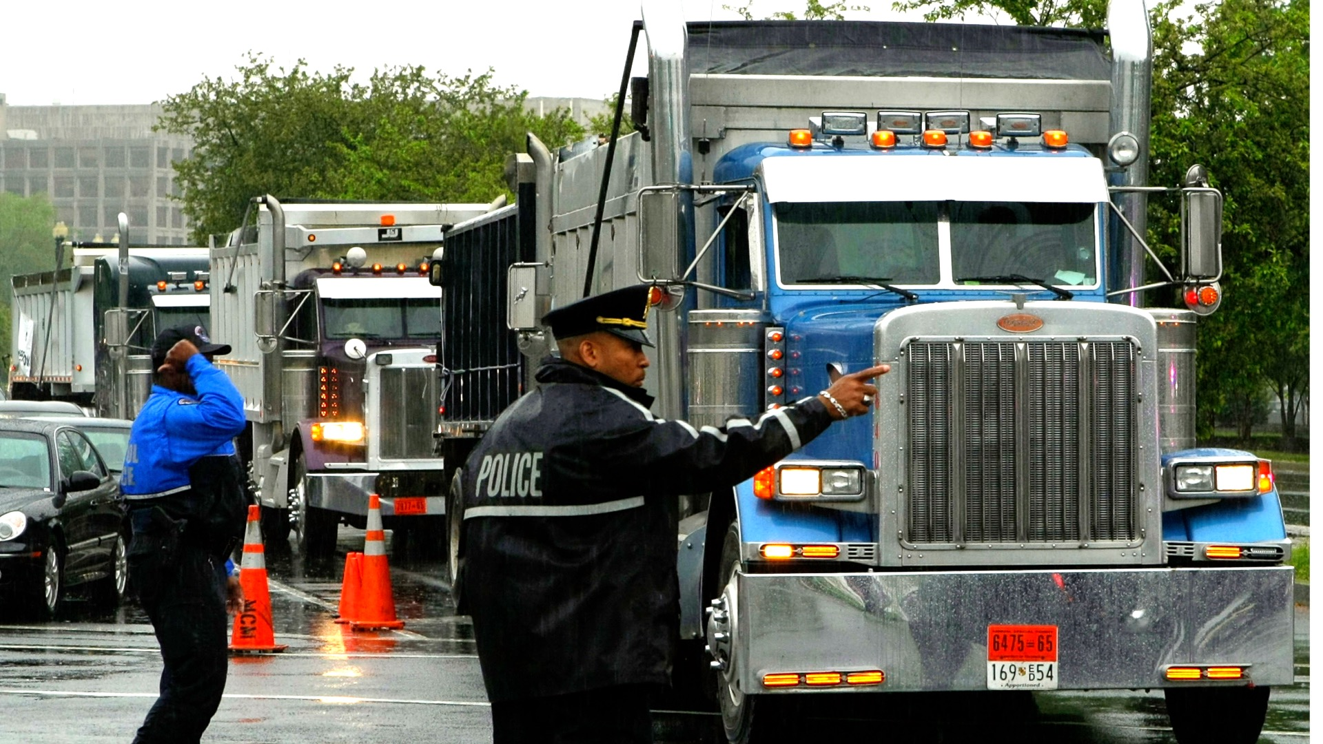 JKC Trucking Stops Deliveries to Cities Pushing to Defund or Disband Police Departments