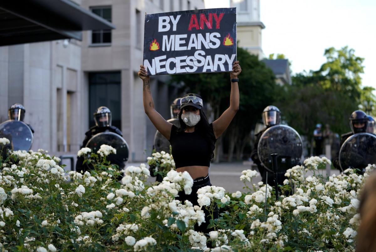 Washington Protest riot