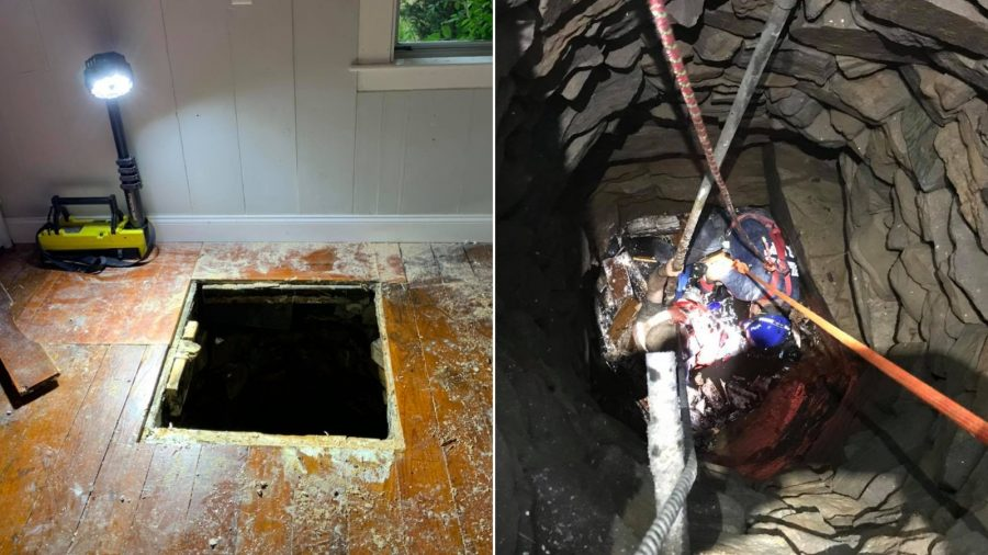 Man Rescued After Falling Nearly 30 Feet Into Well From Inside Home