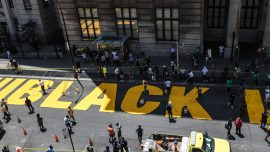 NYC Funds Black Lives Matter Mural In Brooklyn