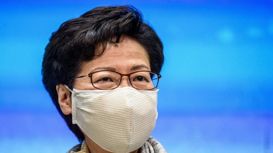 Hong Kong's Carrie Lam Silent as Beijing Passes Draconian National Security Law