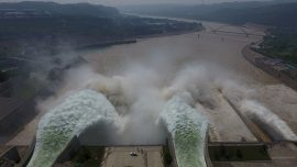 China's Biggest Dam Suspected of Secretly Discharging Floodwater