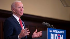 Biden Says Some Funding Should Be Redirected From Police Departments
